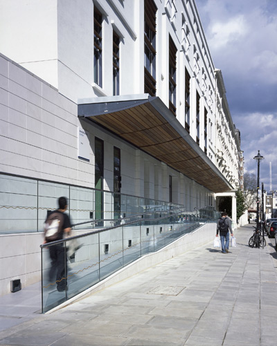 Pat Kaufman: Imperial College London Sports Centre